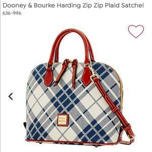 💙👜NWOT! Dooney&Bourke Zip Zip Satchel & Clutch